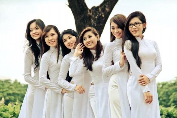 Trang phục ngày xuân của các nước Châu Á