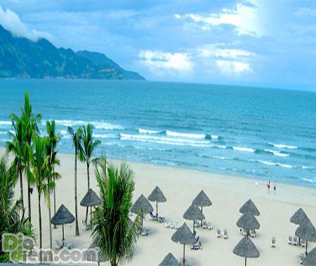 Bãi biển đẹp và quyến rũ tại Đà Nẵng