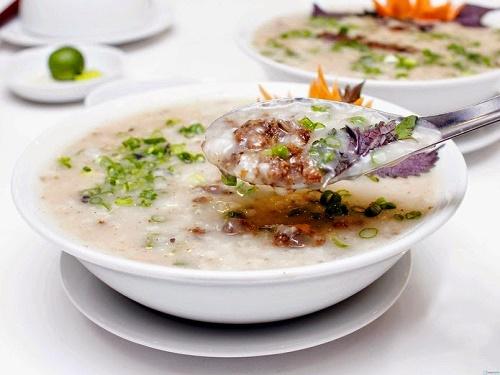 Cháo nhum đặc sản Nha Trang
