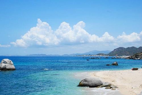 Nét hoang sơ của biển Hải Tiến
