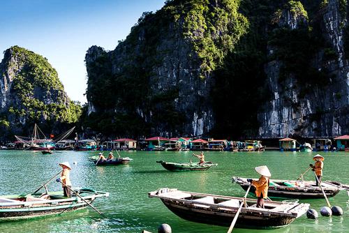 Nét đẹp bình dị của làng chài Vung Viêng