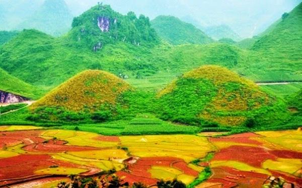 Vẻ đẹp núi Đôi Quản Bạ
