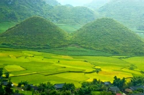 Không gian trong lành, bình yên và gắn liền với truyền thuyết ý nghĩa của núi Đôi Cô Tiên