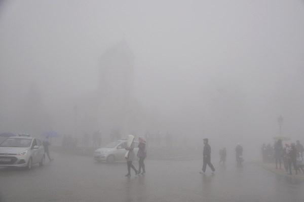 Sương mù ở Sapa