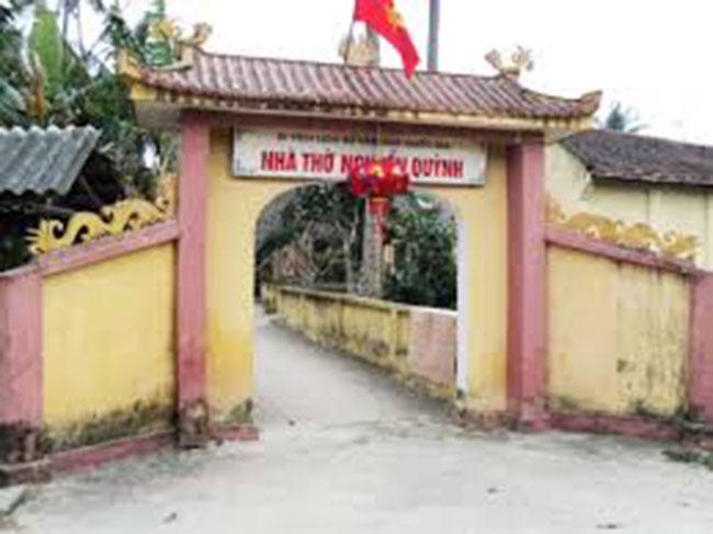 Hình ảnh đền thờ Trạng Quỳnh