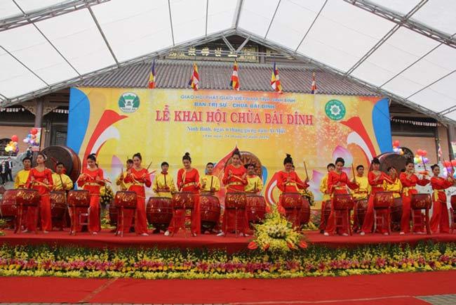 Phần khai hội chùa Bái Đính