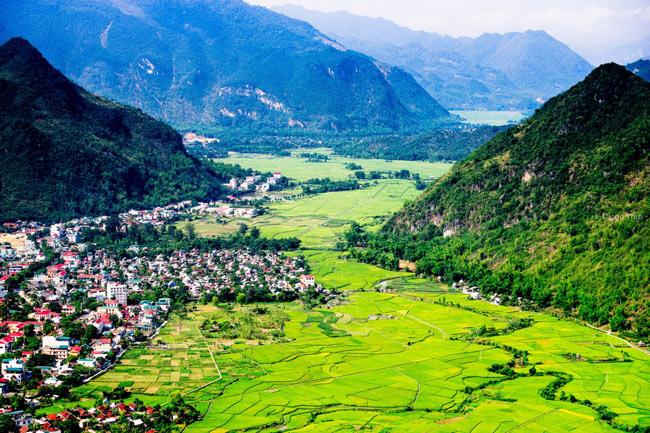 Vẻ đẹp thung lũng Mai Châu - Hòa Bình
