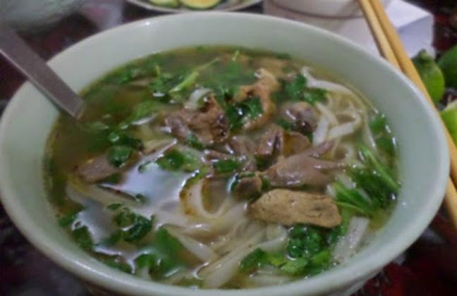 Phở gà Hà Giang có một hương vị rất đặc biệt